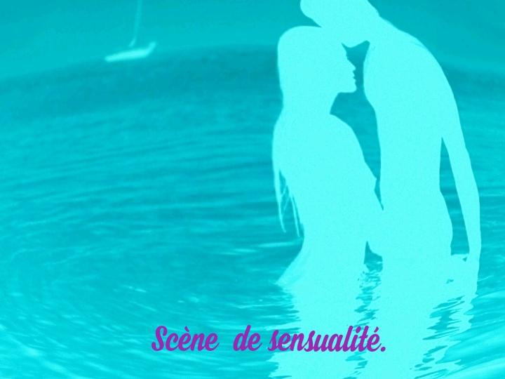 """Scènes de sensualité dans le roman : La vie cachée de Mina M. Passion dans les trois dimensions""""."""